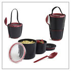 Lunch Pot Lunch Box System By Black+blum Available In Lime, Orange, Black