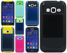 For Samsung Galaxy Prevail LTE NEST HYBRID HARD Case Rubber Cover +Screen Guard