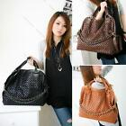 New Fashion Lady Hobo Tote Shoulder Bags Satchel Purse Women PU leather Handbag