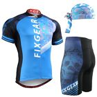 FIXGEAR CS-4602-SET Cycling Jersey & Shorts Padded,  MTB Bike,  BMX,  Beanie GIFT