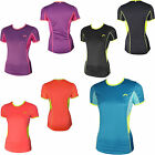 More Mile Womens Ladies Short Sleeve Running Tee T-Shirt Top MM1926-9