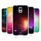 HEAD CASE PRINTED STUDDED OMBRE SILICONE GEL CASE FOR SAMSUNG GALAXY S5