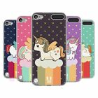 HEAD CASE UNICORN CHUBBY SILICONE GEL CASE FOR APPLE iPOD TOUCH 5G 5TH GEN