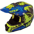 Fly Racing/HMK F2 Carbon Pro Stamp Snowmobile Helmets