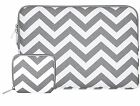 Mosiso Chevron Sleeve Case Bag for Macbook Pro Air 11 13 14 15 inch Laptop