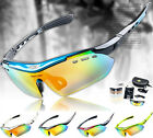 Moutain Bicycle Pro Bike Polarized Cycling Glasses Sunglasses Goggles 6 Lens NEW