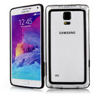 Ultra Thin Colorful Bumper Transparent Clear TPU Case Cover for Samsung Note 4