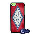 State Flag of Arkansas - Case for iPhone 5c, Cell Phone Cover, Little Rock
