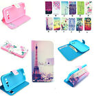 Flip PU Leather Patterned Wallet Card Holder Case Cover Pouch For Smart Phones