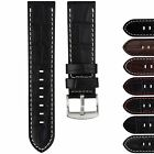 High Quality Genuine Leather Watch Strap for U-Boat & Nixon Watches 23mm