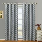 Meridian Grommet Blackout Thermal Insulated Window Curtain Panel Pair Set of 2