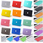 For Mac Macbook Keyboard Skin Hard Smart Cut Out Top Case Cover Laptop Accessory