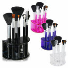 7 Piece Eye Make-Up Set Brushes Kit & Stand Cosmetic Ladies Beauty 4 Colours