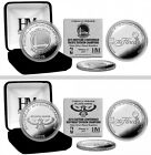 Choose Your NBA Team 2015 Conference Division Champions Silver Medallion Coin