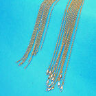 Wholesale 10x Fashion Jewelry 18k Gold Filled Cross Necklaces Chains For Pendant