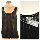 MISSONI for Target - Fine Knit Tank Top - Black - Choose Size.