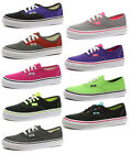 Vans Authentic Unisex Junior Plimsolls/Trainers ALL SIZES AND COLOURS