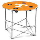 Choose NCAA College N-Z Team Portable Folding Polyester Round Tailgate Table