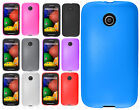 For Motorola Moto E TPU CANDY Gel Flexi Skin Phone Case Cover Accessory