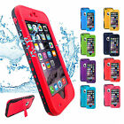 New! Life Waterproof Dirt/Shock/Snow Proof iPhone 6/6 Plus Case Cover Stand
