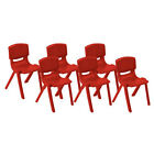 """ECR4Kids Resin Stack Chair 16""""  (6 PACK)  FREE SHIPPING!"""