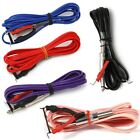 1pc Flexible 6FT Long Soft wire Clip Cord For Rotary Tattoo Machine Gun 5 colors