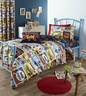 Comic Strip Fitted Sheet, Single Double