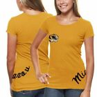 Missouri Tigers Women's Alleviation Slim Fit T-Shirt - Gold