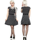 Jolly Roger Patsy Dress Pirate Retro Diner Pinup Girl 50's Rockabilly S-2XL