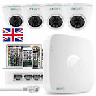 4x 1.3MP Colour IR Cut Camera + Full HD Recorder PoE IP P2P QR CCTV Kit OE44AA0