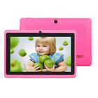 """16GB 7"""" Google Android 4.4 Tablet PC for Kids Children Dual Cameras WiFi Colors"""
