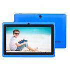 "7"" 16GB Android 4.4 Quad Core Camera WIFI Tablet For Kids BEST Gift Xmas NEW US"