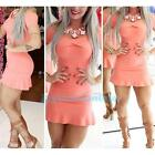 New Sexy Women Summer Slim Fit Bandage BodyCon Evening Party Cocktail Mini Dress