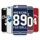 HEAD CASE SPORTS JERSEY SILICONE GEL CASE FOR APPLE iPHONE 6 PLUS 5.5