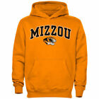 Missouri Tigers Youth Midsized Pullover Hoodie – Gold