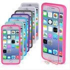 Shockproof Hard Soft TPU Cover Skin Case F Apple iPhone 6 4.7inch+Screen Protect