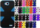 LG Ultimate 2 L41C LIMPACT TUFF HYBRID Protector Case Skin Phone Cover Accessory