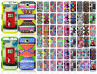 LG Ultimate 2 L41C IMPACT TUFF HYBRID Protector Case Skin Cover +Screen Guard