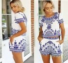 Hot Women's Clubwear Flora Playsuit Lady Bodycon Party Jumpsuit&Romper Trousers