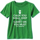 Keep Calm Yoda Star Wars Funny Short Sleeve T Shirt Gildan Jedi Knight Vader $15.99 USD on eBay