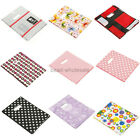100 Packaging Pretty Pattern Print Plastic Jewelry Gift Shopping Carrier Bags