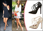 New Fashion Women Ladies Hollow Platform Stiletto Lace Up High Heel Court Shoes