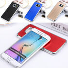 Aluminum Ultra-thin Brushed Metal For Samsung Back Case Cover Galaxy S6/S6 Edge