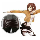 Attack on Titan Faux Leather Scouting Legion Skirt Towel Cloth FREE P&P