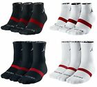 NIKE BASKETBALL SOCK - 3 PAIRS JORDAN Dri-FIT® SOCKS - LOW QUARTER OR CREW