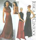 Misses Evening Skirt Tops Sewing Pattern Halter Front Panel Cowl Neck Options