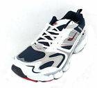 MENS ASCOT TRAINERS WHITE NAVY RED OXYGEN