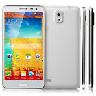 "5.5"" Android 4Core Dual Sim Unlocked Phone GPS AT&T 3G/GSM/WCDMA Smartphone US"