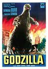 1954 Godzilla Movie Poster A3 Print