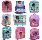 Girl Disney Doc Mcstuffins School Bag Rucksack Backpack Brand New Gift